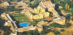 Arial View of  Khimsar Fort, Jodhpur